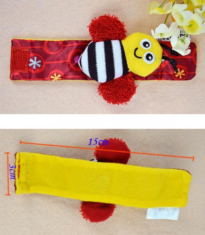 Lovely Popular Musical Inchworm Developmental Baby Kids Colorful Soft Toy ESY1