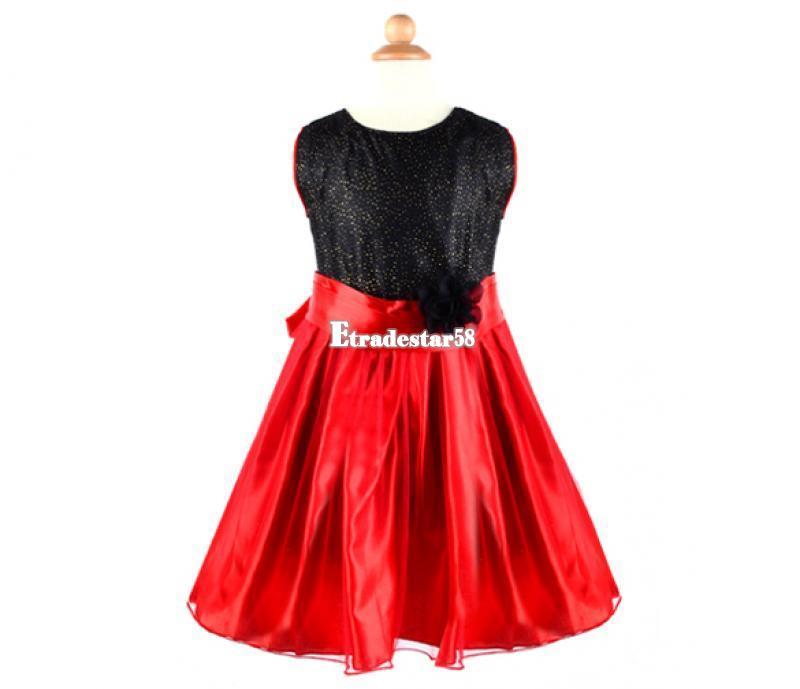 Cute Baby Girls Princess Sleeveless Dress Big Bow Tutu Outfits Pettiskirt Etds