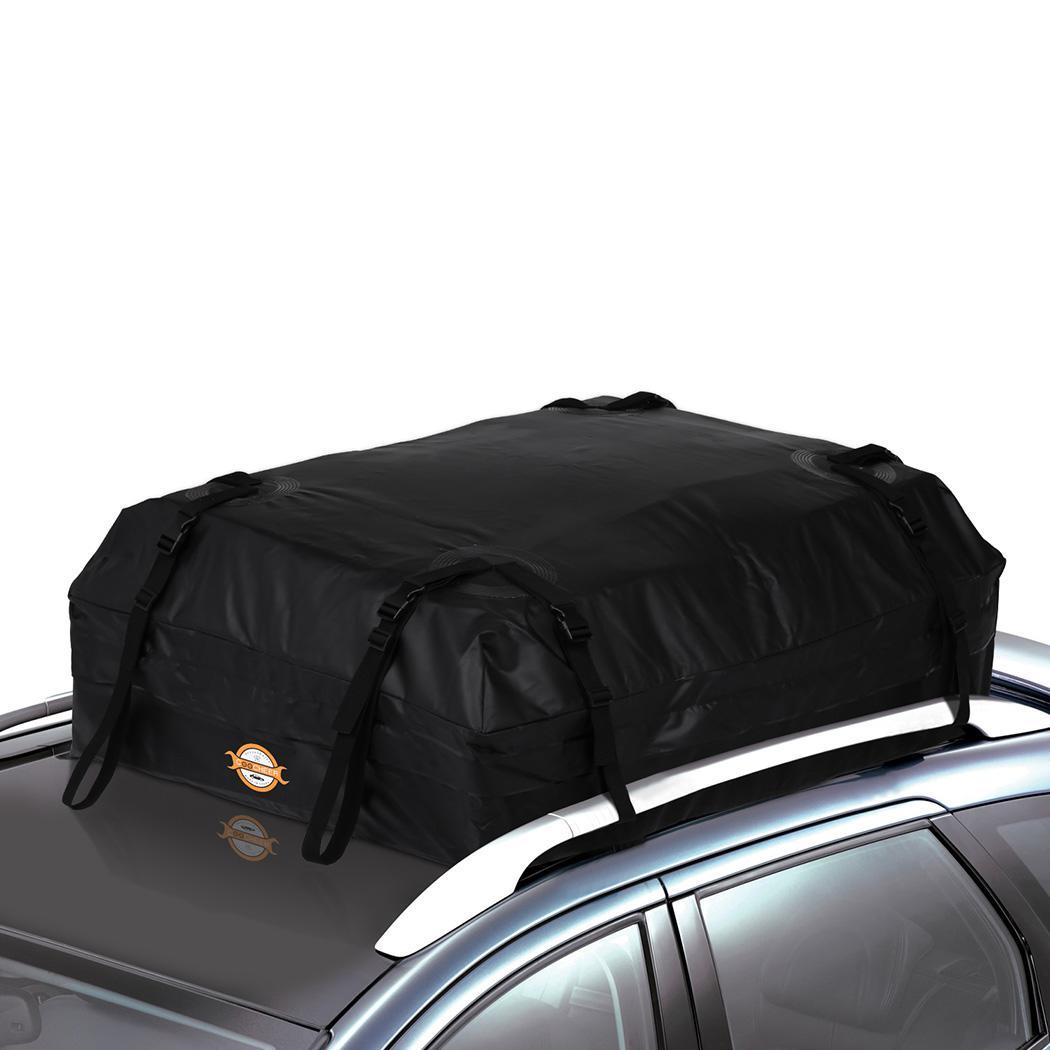 Details About 14 Cubic Car Cargo Roof Top Carrier Bag Rack Storage Luggage Rooftop Waterproof