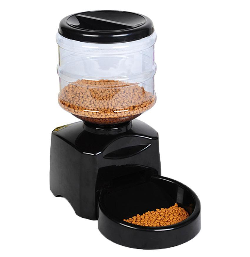 large automatic pet feeder electronic programmable cat 87492