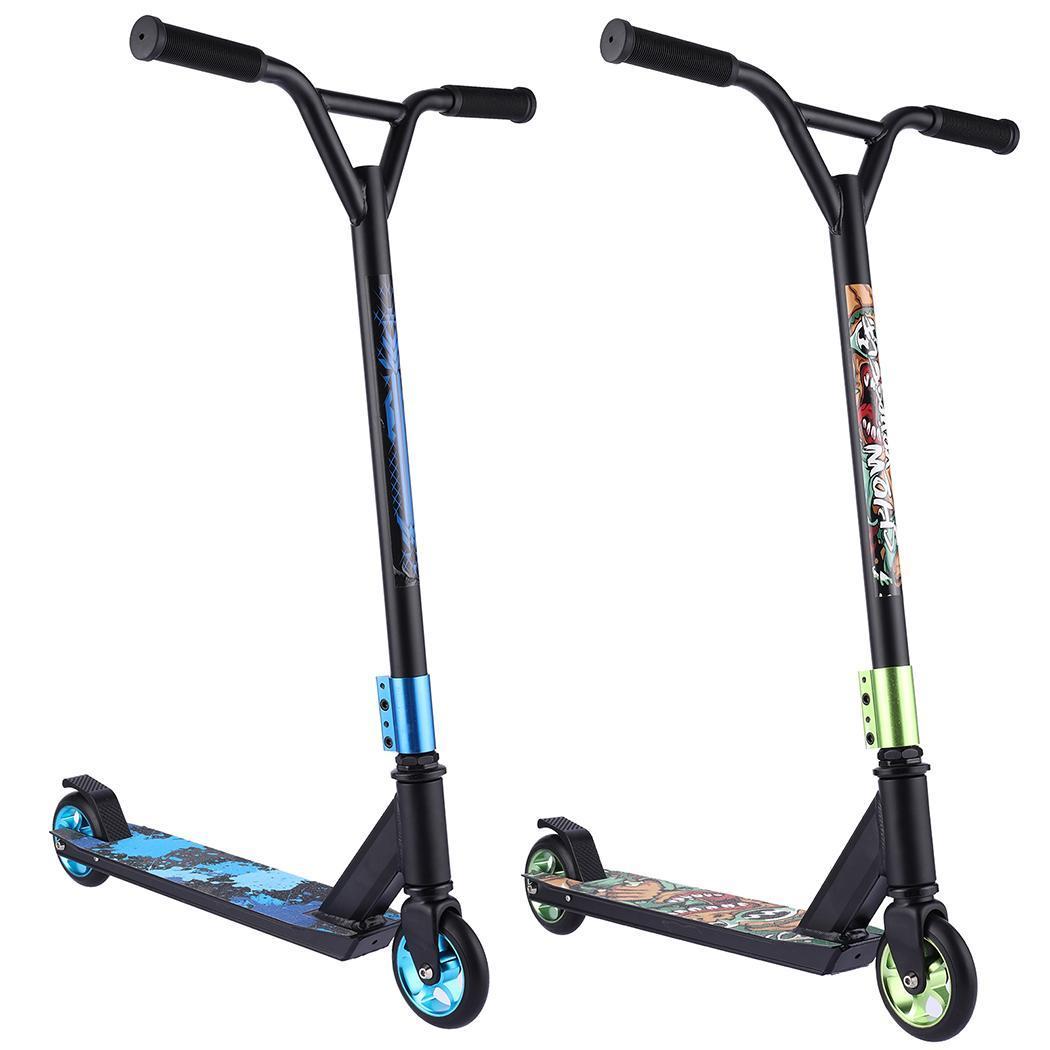 Stunt Scooter T-Bar Extreme Roller Cityroller Tretroller Kinderroller Erwachsene