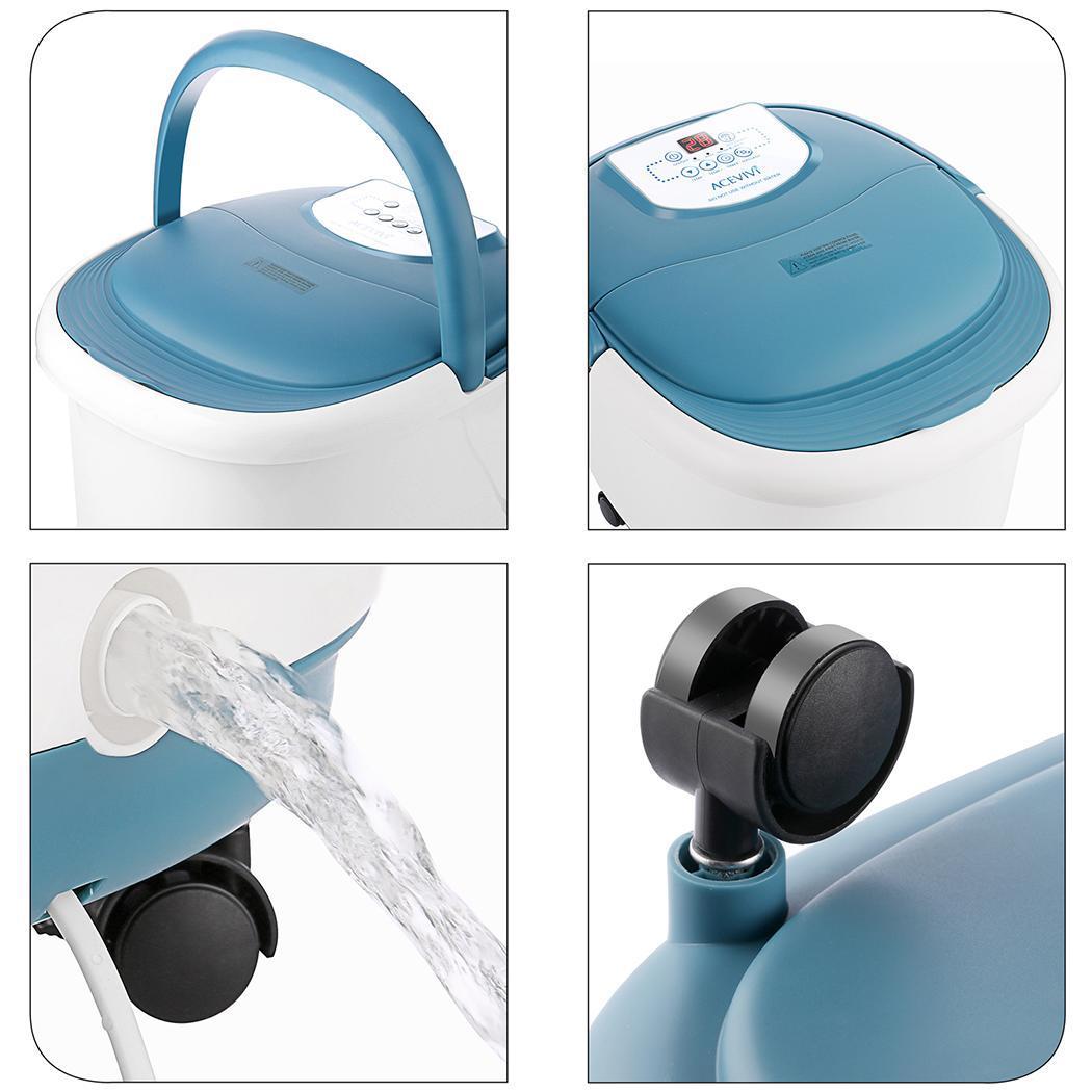 Fußsprudelbad elektrisches Fußbad Fußmassagegerät Medisana FS 885 390 Watt