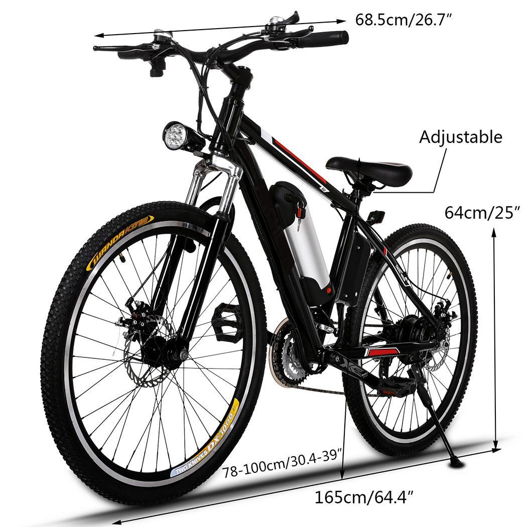 elektro fahrrad mountainbike 36v alu e bike akku fahrrad. Black Bedroom Furniture Sets. Home Design Ideas