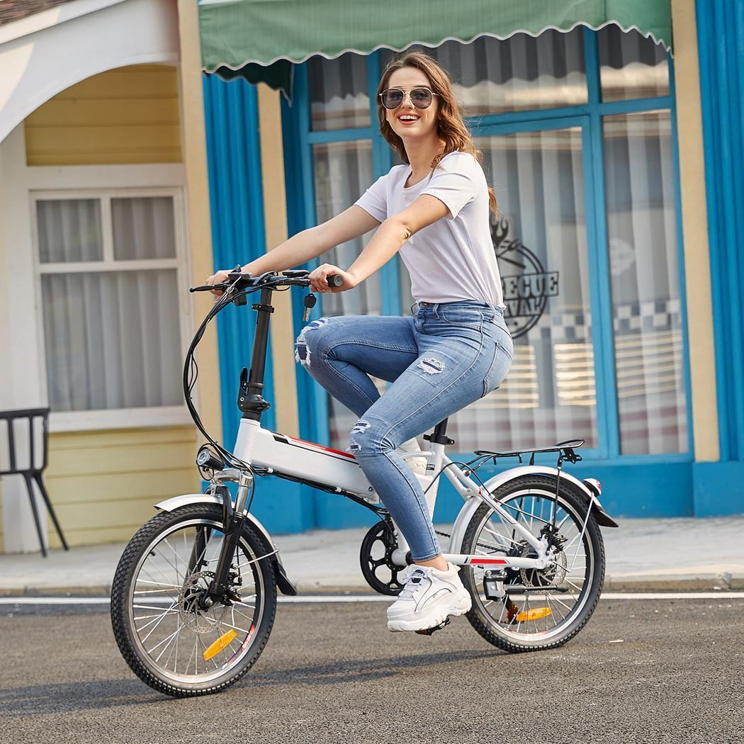 Brand 14//18.7//26inch Folding Electric Power Bicycle Mountain Bike+Battery Cycle