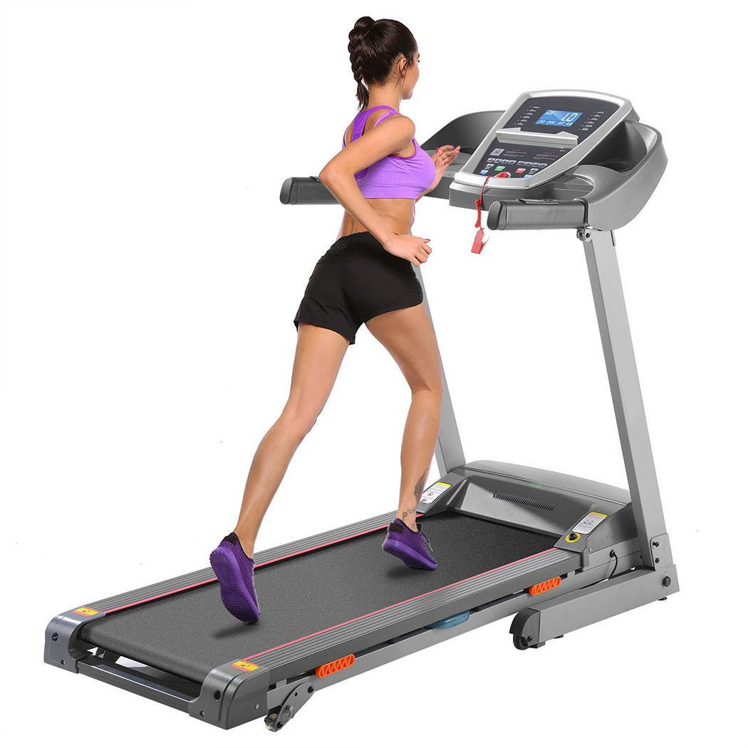 Electric Gym Fitness Machine Bluetooth MP3 Treadmill Folding For Running Fitness