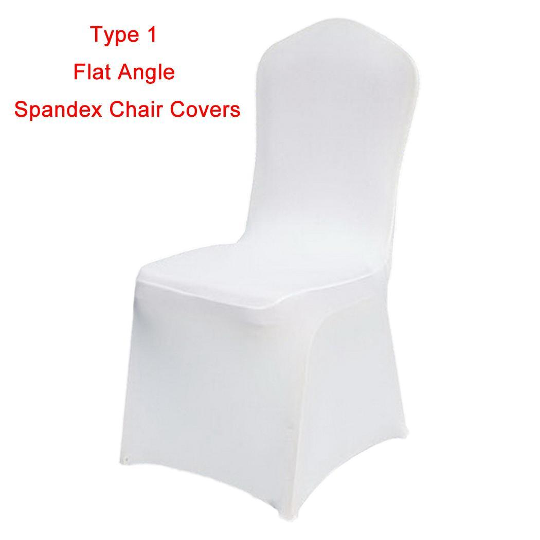 Folding chair covers wholesale under 1 - Spandex Chair Covers For Wedding Supply Party Banquet Decoration