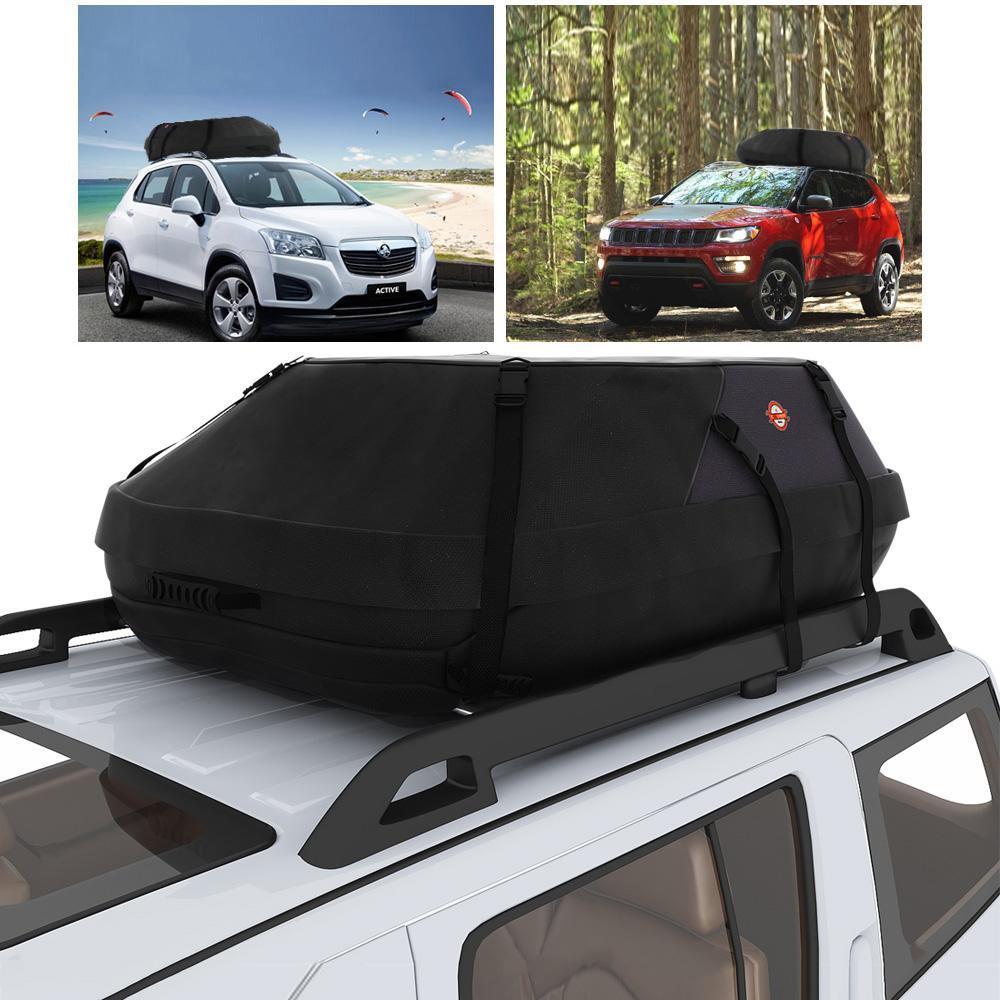 Waterproof Car Top Carrier Roof Cargo Bag Box Luggage Cars Vans SUVs