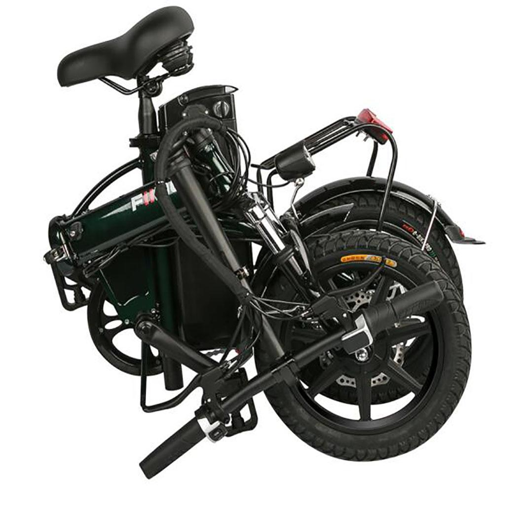 Outdoor Riding Black Aluminum Alloy Bicycle Mountain Bike Luggage EH7E