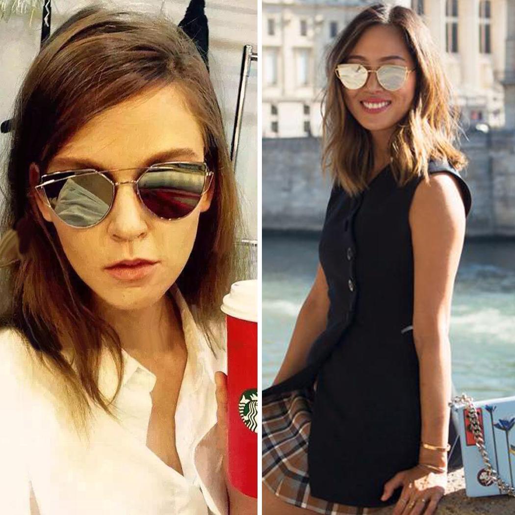 Nueva moda estilo Vintage Unisex marco lente Retro redondas gafas de sol  gafas Retro gafas 8987c1a9f12c
