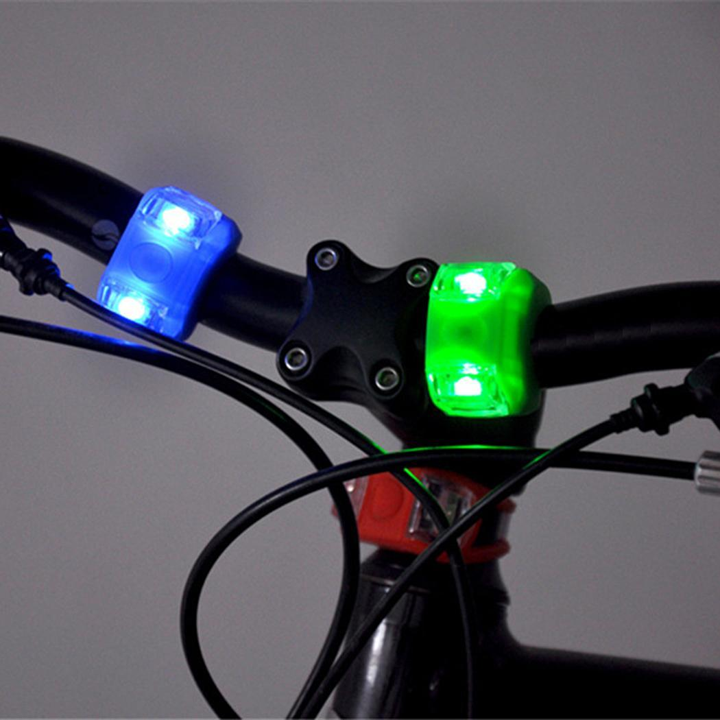 Waterproof Round Bicycle Bike LED Light Front Headlight Outdoor EH7E