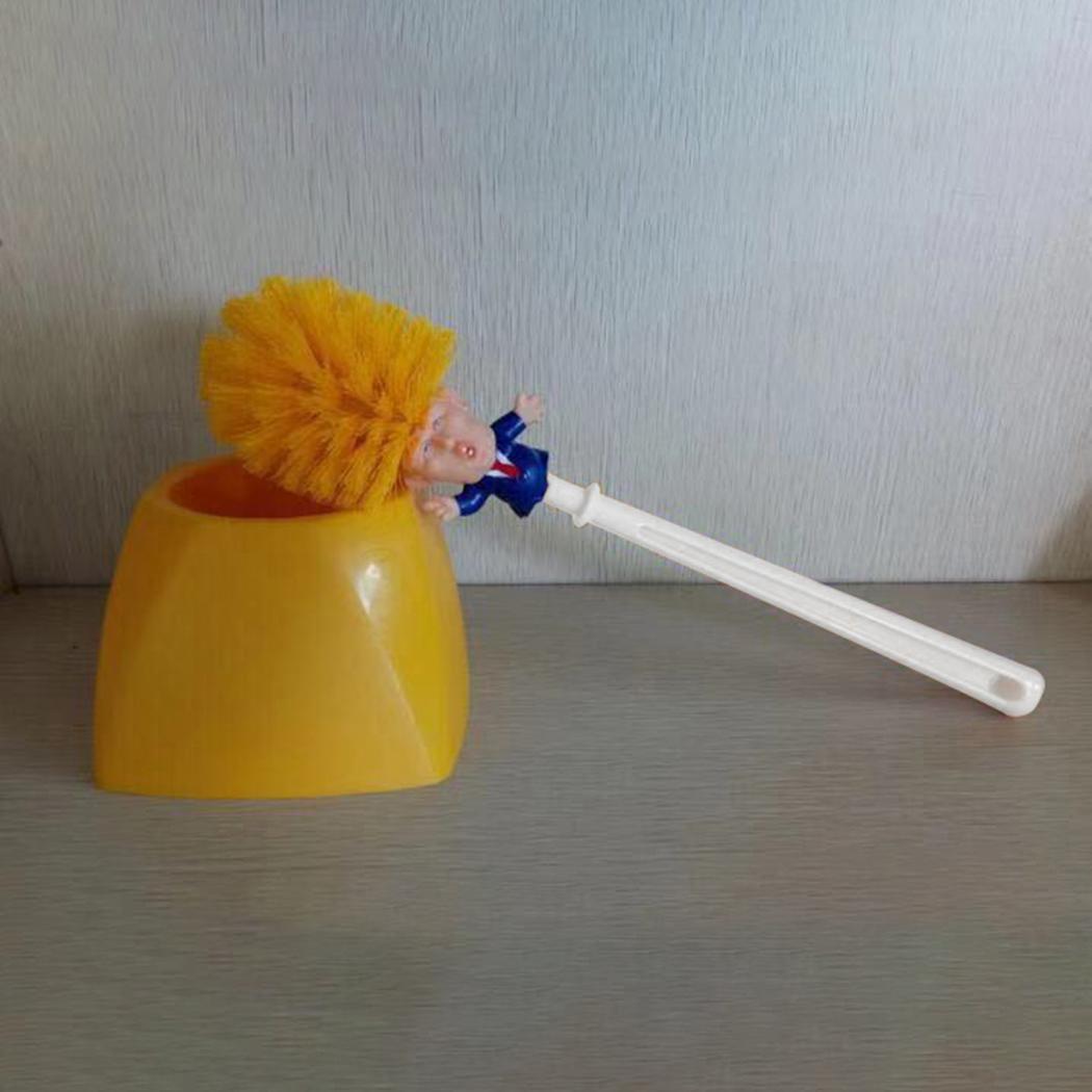 Cartoon Toilet Brush Holders Home Bathroom Cleaning Tools B98B