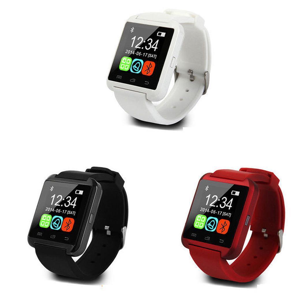 0f00a29d38d960 Details about Unisex USB Bluetooth Smart Wrist Watch Mobile Phone Pedometer Smart  Wrist WST 01