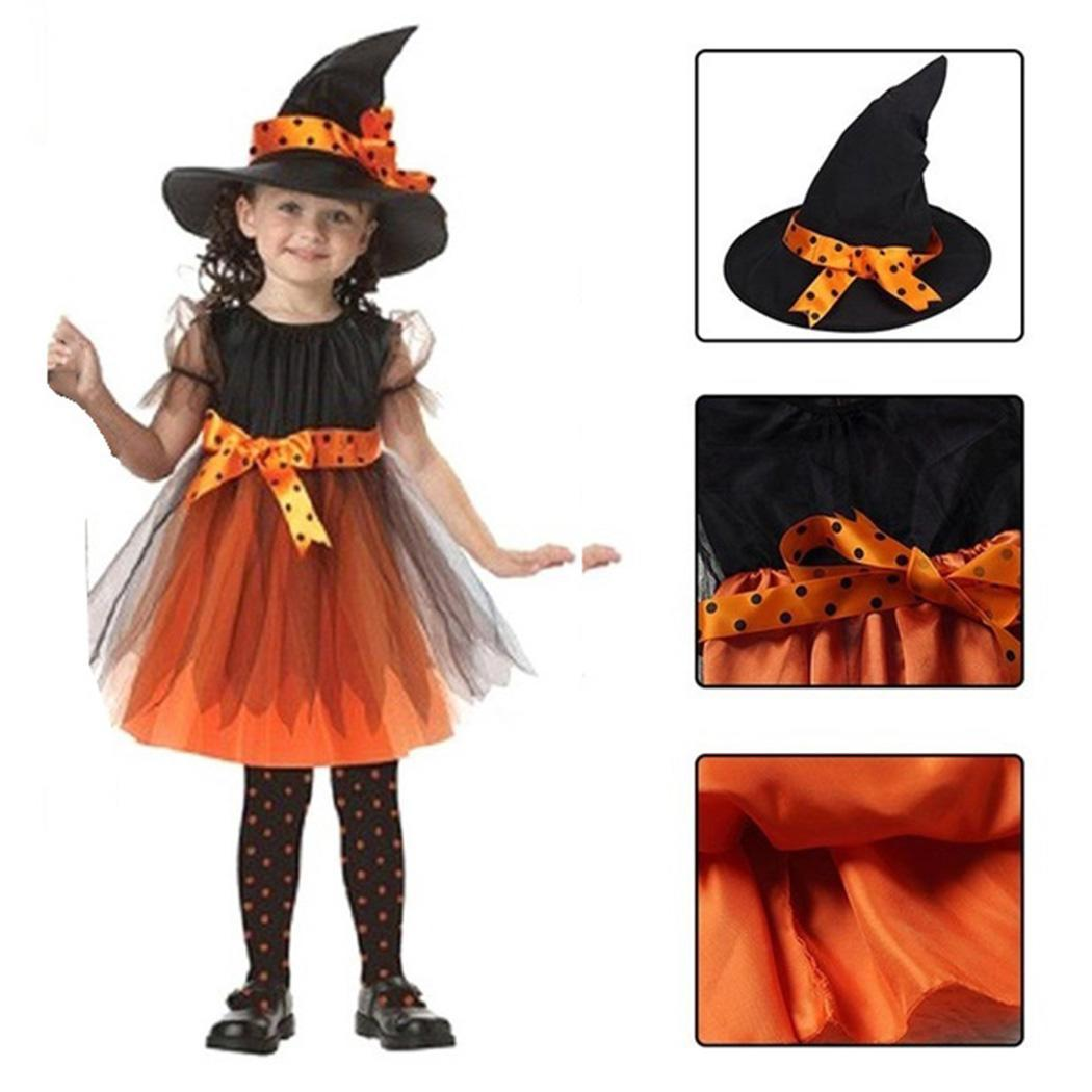 ff59cb31066 Details about Kids Halloween Costume Children Witch Cloak Cape Bat Cosplay  Party B98B