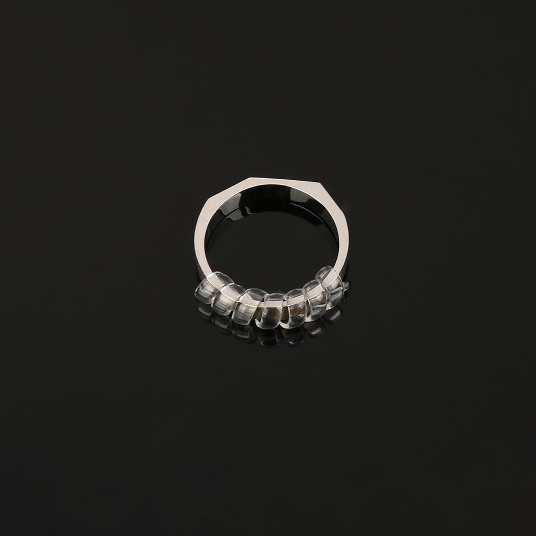 Durable Portable Transparent Ring Size Adjuster Ring